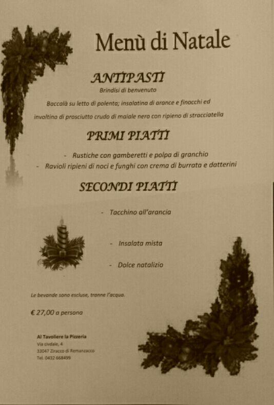 Menu Di Natale Pugliese.Ristoranti Pugliesi In Italia Il Ricco Menu De Al